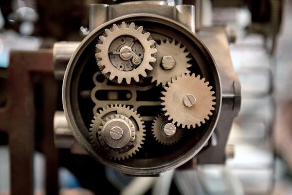 gear machine