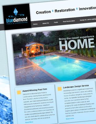 Blue Diamond Pools