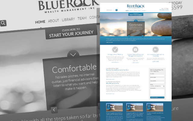 netgain seo client blue rock