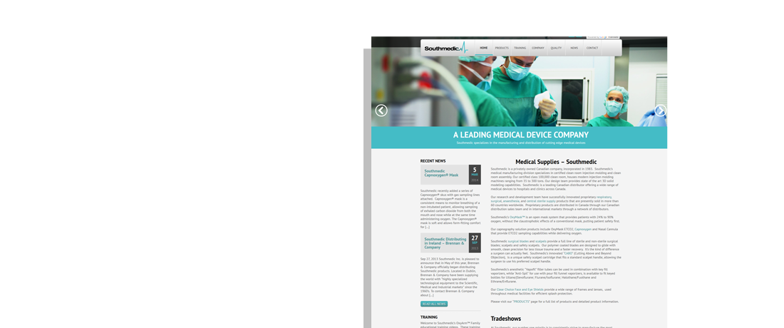 client southmedic website