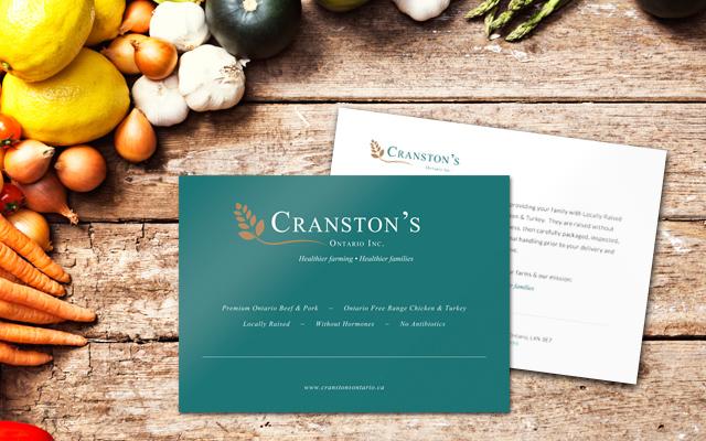 cranstons postcard