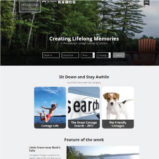Muskoka Vacation Rental Website