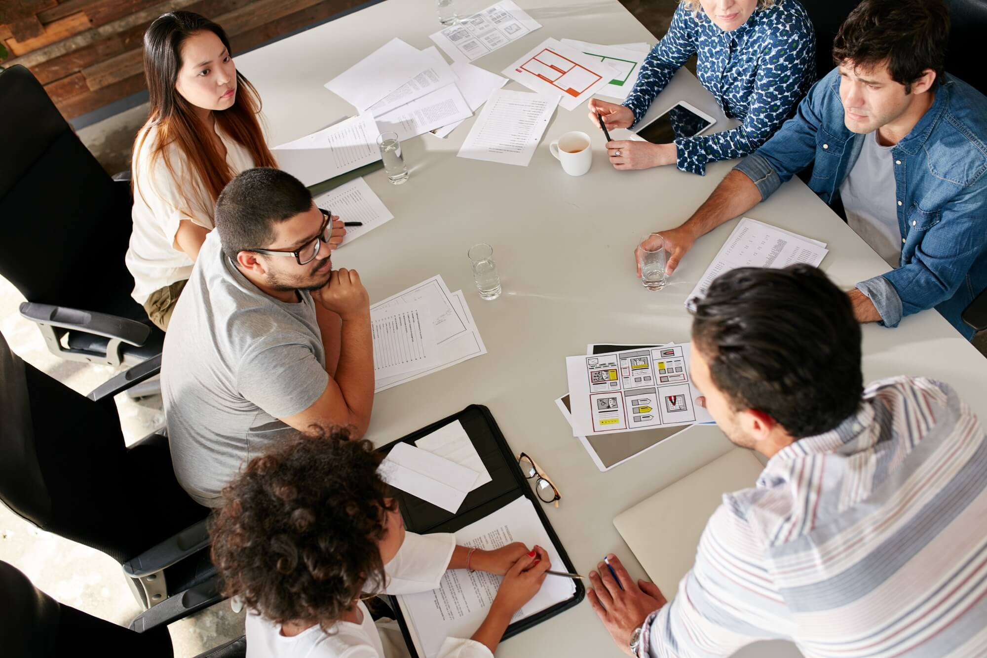 agencies offer the benefit of collaborative teamwork