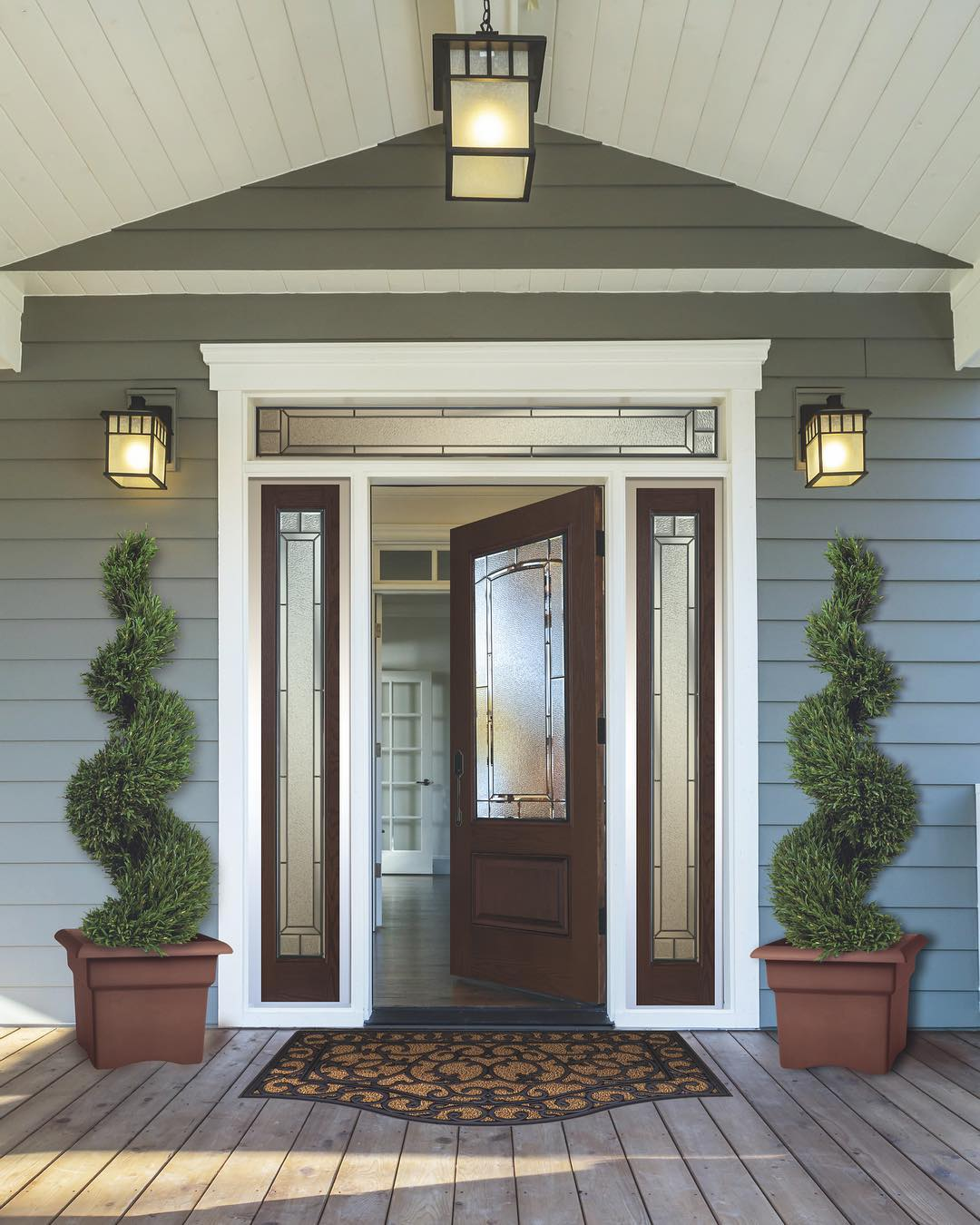 Picture of a front door