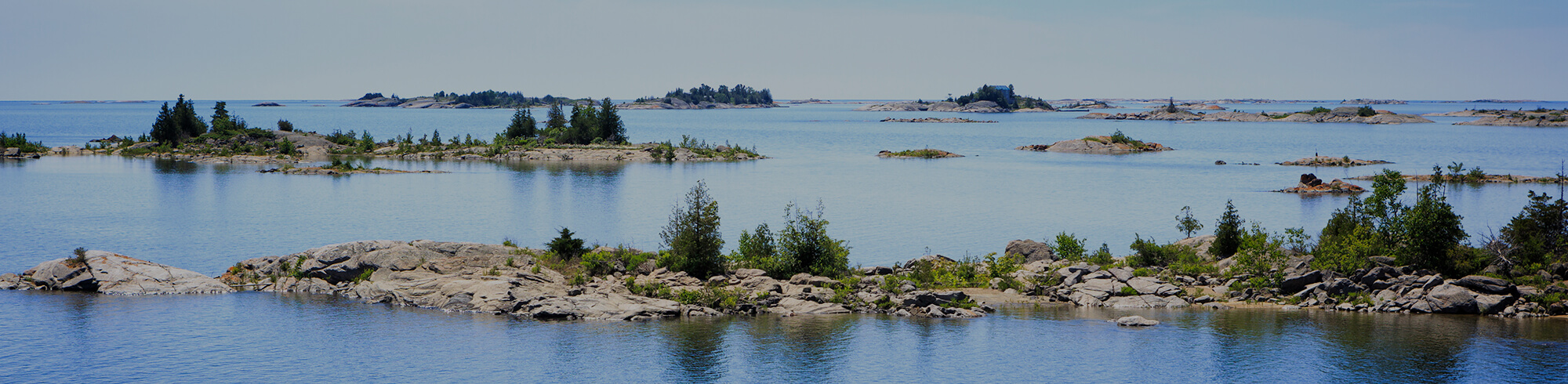 Islands in Parry Sound Ontario