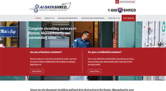 A1 DataShred Homepage
