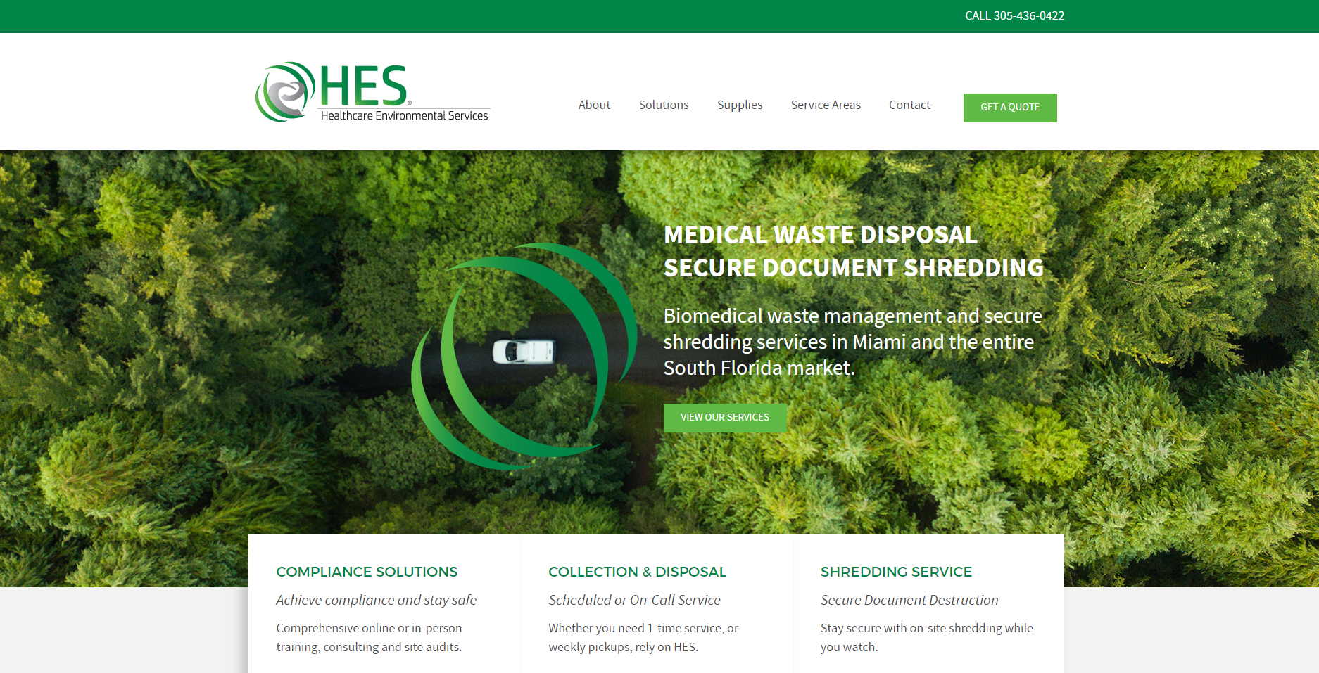 HES MedWaste Homepage