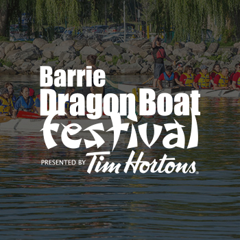 Barrie Dragon Boat Logo