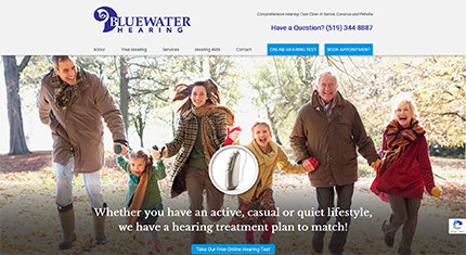 Bluewater Hearing Homepage
